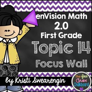 enVision Math 2.0 Focus Wall Topic 14 (First Grade)