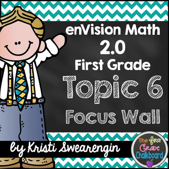 enVision Math 2.0 Focus Wall Topic 6 (First Grade)