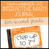 enVision Math 2.0 Interactive Math Journal 2nd Grade Step Up to 3rd