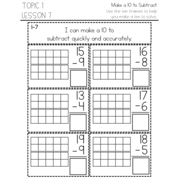 enVision Math 2.0 Interactive Math Journal 2nd Grade Topic 1