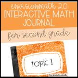 enVision Math 2.0 Interactive Math Journal 2nd Grade Topic 1