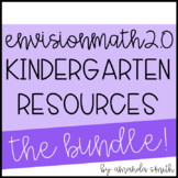 enVision Math 2.0 * Kindergarten Grade Resource Bundle