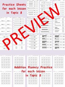 enVision Math 2.0 Kindergarten Topic 8 Practice