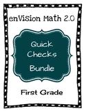 enVision Math 2.0 Quick Checks Bundle - 1st Grade