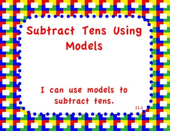 enVision Math 2.0  Topic 11   Grade 1  Flipchart