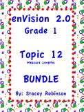 enVision Math 2.0  Topic 12  BUNDLE Grade 1