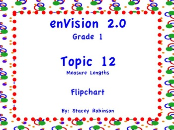 enVision Math 2.0  Topic 12   Grade 1  Flipchart
