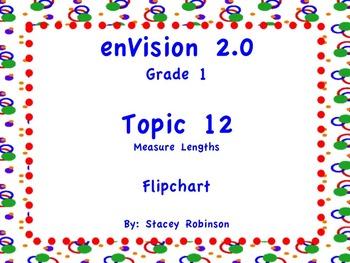 enVision Math 2.0  Topic 12   Grade 1  Flipchart