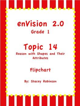 enVision Math 2.0  Topic 14   Grade 1  Flipchart