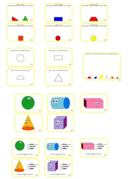 enVision Math 2.0  Topic 14   Grade 1  Task Cards