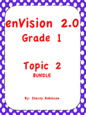 enVision Math 2.0  Topic 2  BUNDLE Grade 1