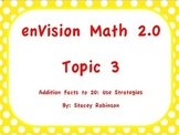 enVision Math 2.0 Topic 3, Flipchart, Grade 1