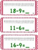 enVision Math 2.0  Topic 4   Grade 1  Complete Set Task Cards