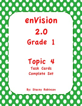 enVision Math 2.0  Topic 4   Grade 1  Flipchart