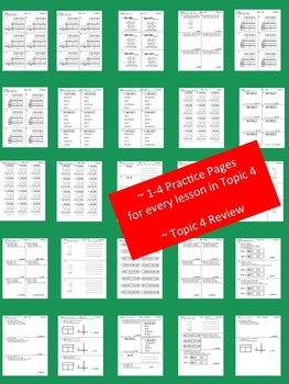 enVision Math 2.0 Topic 4 Grade 2 Practice Sheets