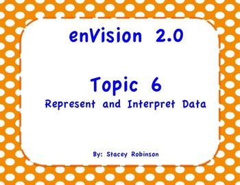 enVision Math 2.0  Topic 6  Grade 1  Flipchart