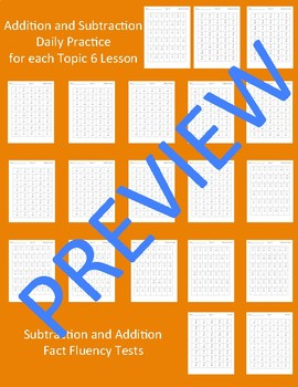 enVision Math 2.0 Topic 6 Grade 2 Practice Sheets