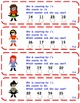 enVision Math 2.0  Topic 7   Grade 1  Complete Set Task Cards