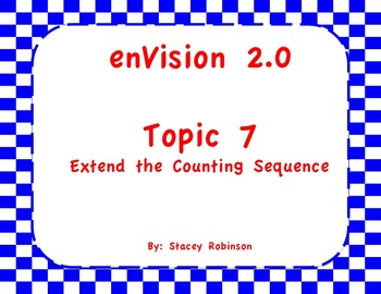 enVision Math 2.0  Topic 7   Grade 1  Flipchart