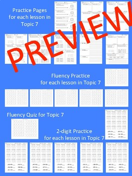 enVision Math 2.0 Topic 7 Grade 2 Practice Sheets