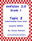 enVision Math 2.0  Topic 8   Grade 1  BUNDLE