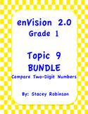 enVision Math 2.0  Topic 9  BUNDLE Grade 1