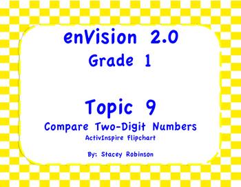 enVision Math 2.0  Topic 9   Grade 1  Flipchart