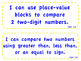"""enVision Math 2.0  Topic 9   Grade 1  """"I can"""" statements"""