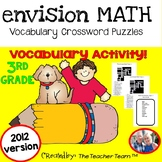enVision Math 3rd Grade Common Core 2012 Crossword Puzzles Topics 1-16