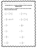 enVision Math 4th Grade - Topic 10 Extend Multiplication Concepts to Fractions