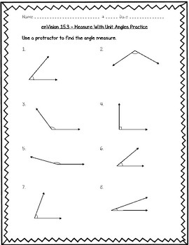 enVision Math 4th Grade - Topic 15 - Geometric Measurement