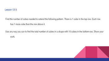 enVision Math Common Core Problem of the Day Slides, Grade 5, Topic 12
