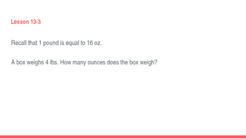 enVision Math Common Core Problem of the Day Slides, Grade 5, Topic 13