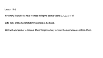 enVision Math Common Core Problem of the Day Slides, Grade 5, Topic 14