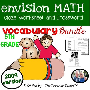 Adaptable image within envision math 5th grade workbook printable