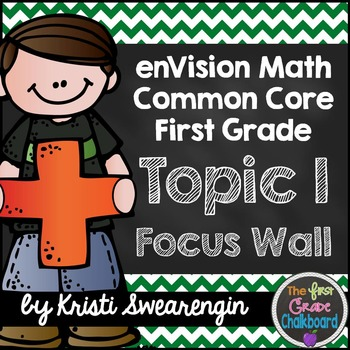 enVision Math First Grade Common Core Focus Wall Topic 1