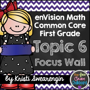 enVision Math First Grade Common Core Focus Wall Topic 6