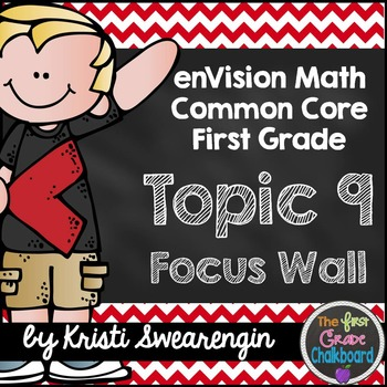 enVision Math First Grade Common Core Focus Wall Topic 9