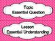 enVision Math Focus Wall Headers