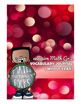 enVision Math Gr2 - Vocabulary Journal