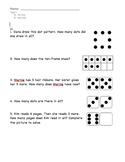 enVision Math Grade 1, Topic 1 Pre/Post-Assessment Spanish