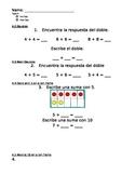 enVision Math Grade 1, Topic 4 Pre/Post-Assessment Spanish