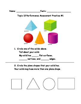 enVision Math Grade 2 Performance Assessment Review Topics 9-12