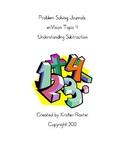 enVision Math Journals Topic 4 Understanding Subtraction