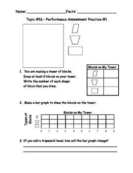 enVision Math Performance Assessment Reviews Topics 13-16 Grade 2
