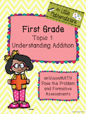 enVision Math Tasks and Formative Assessments First Grade Topic 1