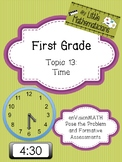 enVision Math Tasks and Formative Assessments First Grade Topic 13