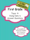 enVision Math Tasks and Formative Assessments First Grade Topic 14