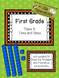 enVision Math Tasks and Formative Assessments First Grade Topic 8