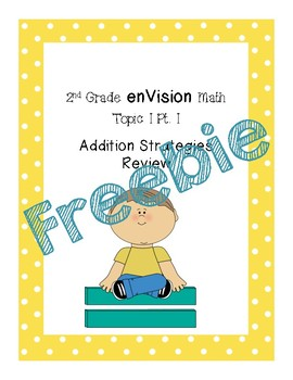 enVision Topic 1 Addition Strategies Review